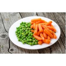 Morcovi și mazăre sote