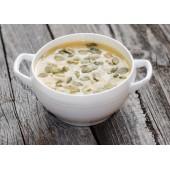 Supă cremă de dovleac cu ghimbir și nucșoară