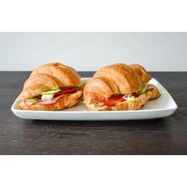 Croissant cu pastramă de porc