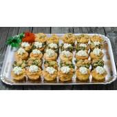 Platou de brioșe Happy Salty Muffins