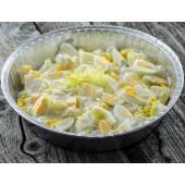 Salată de cartofi cu ouă de prepeliță